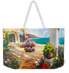 Venice Villa Weekender Tote Bag