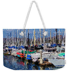 Ventura Harbor Village Weekender Tote Bag