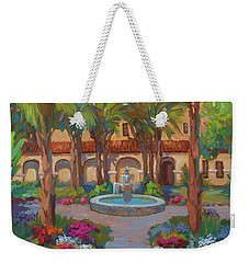 Ventura Mission Weekender Tote Bag by Diane McClary