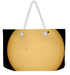 Venus Transit Weekender Tote Bag by Jason Politte