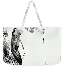 Venus Williams Paint Splatter 2c Weekender Tote Bag by Brian Reaves