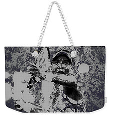 Venus Williams Paint Splatter 2e Weekender Tote Bag by Brian Reaves