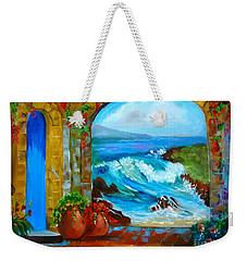 Veranda Ocean View Weekender Tote Bag