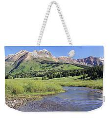 Verdant Valley Weekender Tote Bag by Eric Glaser