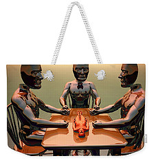 Verdict Of The Eldar Gods Weekender Tote Bag by John Alexander