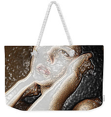 Weekender Tote Bag featuring the photograph Verity Unmasked by Richard Thomas