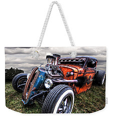 Vermin's Diner Rat Rod Front Weekender Tote Bag