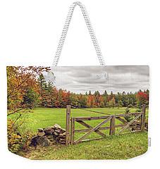 Vermont Countryside Weekender Tote Bag