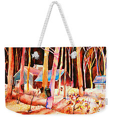 Vermont Maple Syrup Weekender Tote Bag