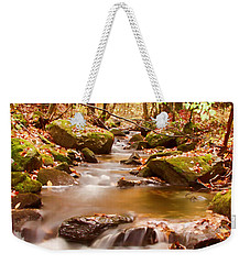 Vermont Stream Weekender Tote Bag by Jeff Folger