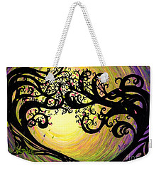 Vernal Equinox Weekender Tote Bag by Janine Riley
