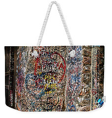 Verona Italy Locks Of Love Weekender Tote Bag by Robin Maria Pedrero