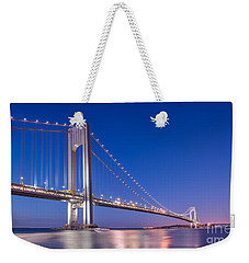 Verrazano Bridge Before Sunrise  Weekender Tote Bag