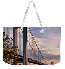Verrazano Narrows Bridge Weekender Tote Bag
