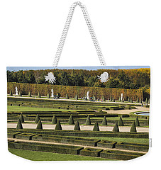 Weekender Tote Bag featuring the photograph Versailles Gardens by Glenn DiPaola