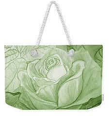 Vert Weekender Tote Bag by Heather  Hiland
