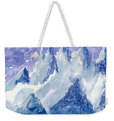 Vertical Horizons Weekender Tote Bag