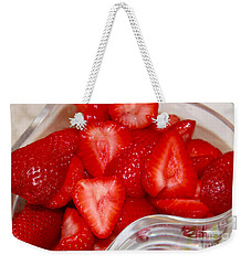 Very Berry Weekender Tote Bag