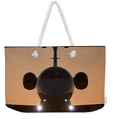 Weekender Tote Bag featuring the photograph Very Close by Paul Job