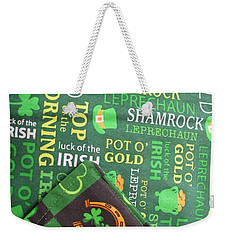 Very Irish Weekender Tote Bag