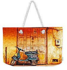 Vespa Weekender Tote Bag