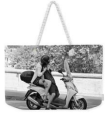 Vespa Romance Weekender Tote Bag