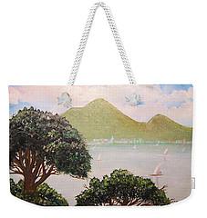 Vesuvius And Umbrella Pine Tree II Weekender Tote Bag