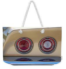 Vette Lights Weekender Tote Bag