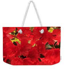 Vibrant Azalea Weekender Tote Bag