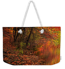 Vibrant Reflection Weekender Tote Bag by Lourry Legarde