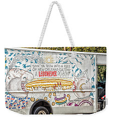 Vic And Nat'ly And The Leidenheimer Po-boy Truck - New Orleans Weekender Tote Bag