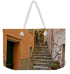 Vicolo Della Valle Riomaggiore Italy Dsc02537  Weekender Tote Bag by Greg Kluempers