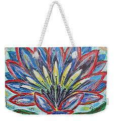 Hawaiian Blossom Weekender Tote Bag