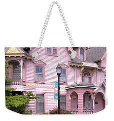 Victorian Pink House - Milford Delaware Weekender Tote Bag