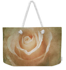 Victorian Vintage Pink Rose Weekender Tote Bag