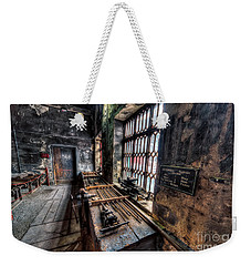 Weekender Tote Bag featuring the photograph Victorian Workshops by Adrian Evans