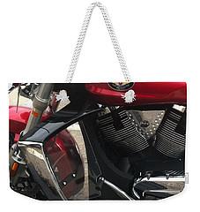 Victory Cycle Weekender Tote Bag