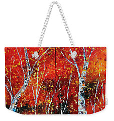 Victory's Sacrifice Weekender Tote Bag by Meaghan Troup