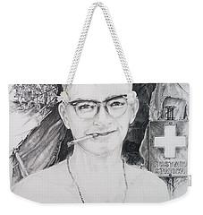 Vietnam Medic Weekender Tote Bag by Scott and Dixie Wiley