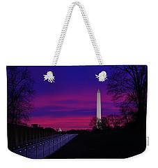 Vietnam Memorial Sunrise Weekender Tote Bag