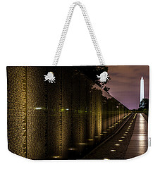 Vietnam Veterans Memorial Weekender Tote Bag