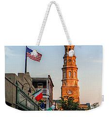 View Down Church Street Weekender Tote Bag