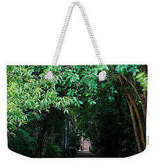 View Down Philadelphia Alley Weekender Tote Bag