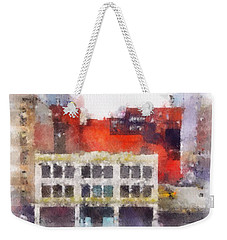View From A New York Window Weekender Tote Bag