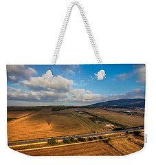 View From Hot Air Balloon Weekender Tote Bag