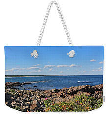 View From Marginal Way Ogunquit Maine 3 Weekender Tote Bag