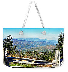 View From Mt. Mitchell Summit Weekender Tote Bag