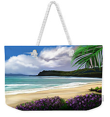 View From My Villa Weekender Tote Bag by Anthony Fishburne