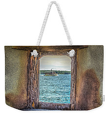 View From The Fort Weekender Tote Bag by Jane Luxton