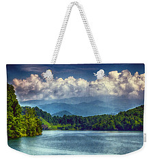 View From The Great Smoky Mountains Railroad Weekender Tote Bag